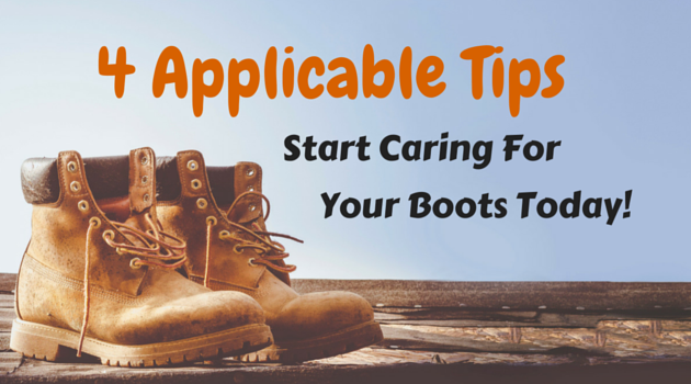 4 Applicable Tips To Care For Your Hunting boots
