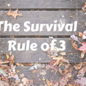 The Survival rule of 3