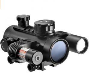 BARSKA Cross Dot Electro Sight Tactical Riflescope (1x30)