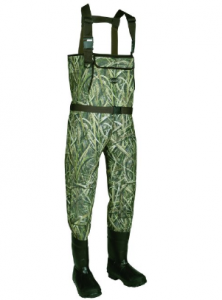 Allen Cattail Bootfoot Neoprene Chest Waders, Mossy Oak Blades Camo