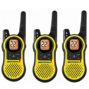 Motorola MH230TPR Rechargeable Two Way Radio 3 Pack,