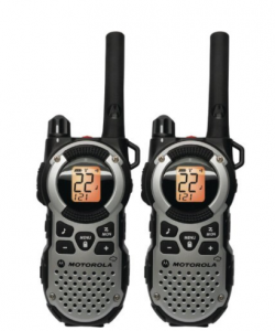 Motorola MT352R FRS Weatherproof Two-Way - 35 Mile Radio Pack - Silver