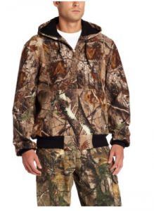 Thermal line camo active jacket