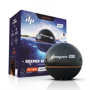 deeper pro series small portable fish finder