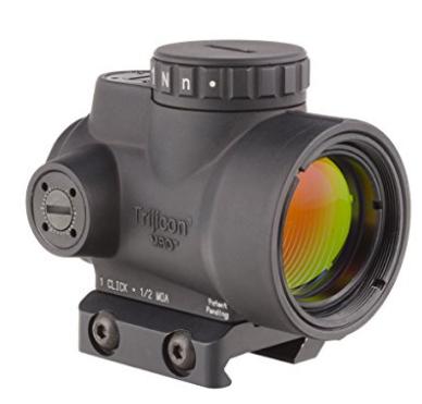 Trijicon 1x25 MRO 2.0 MOA Adjustable Red Dot