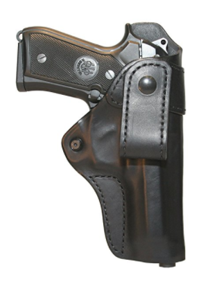 Blackhawk Leather Inside the Pants Black Holster