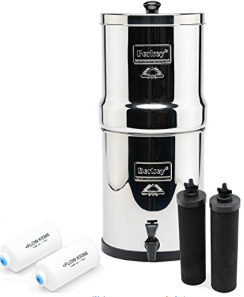 Big Berkey BK4X2 Countertop Water Filter System