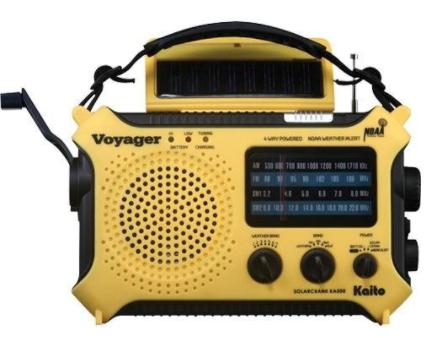Kaito KA500 5-Way Radio