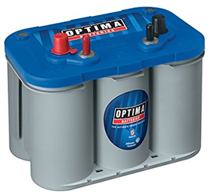 Optima BlueTop Deep Cycle Marine Battery