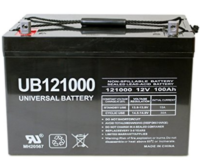 Universal 100 AH Deep Cycle AGM Battery