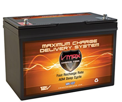 VMAX Marine MR127 Deep Cycle Battery