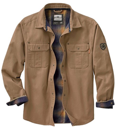 Legendary Whitetails Shirt Jacket