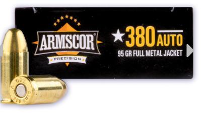 Armscor .380 Auto Ammunition