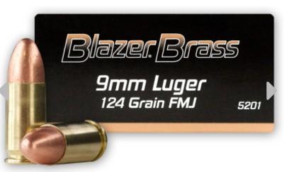 Blazer Brass full metal jacket