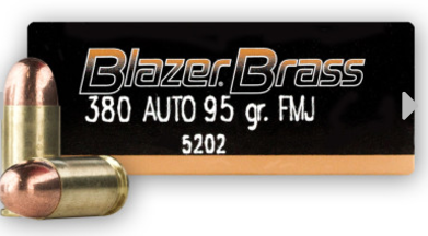 Blazer Brass 380 Auto Rounds