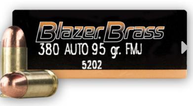 Blazer Brass 380 Auto Rounds