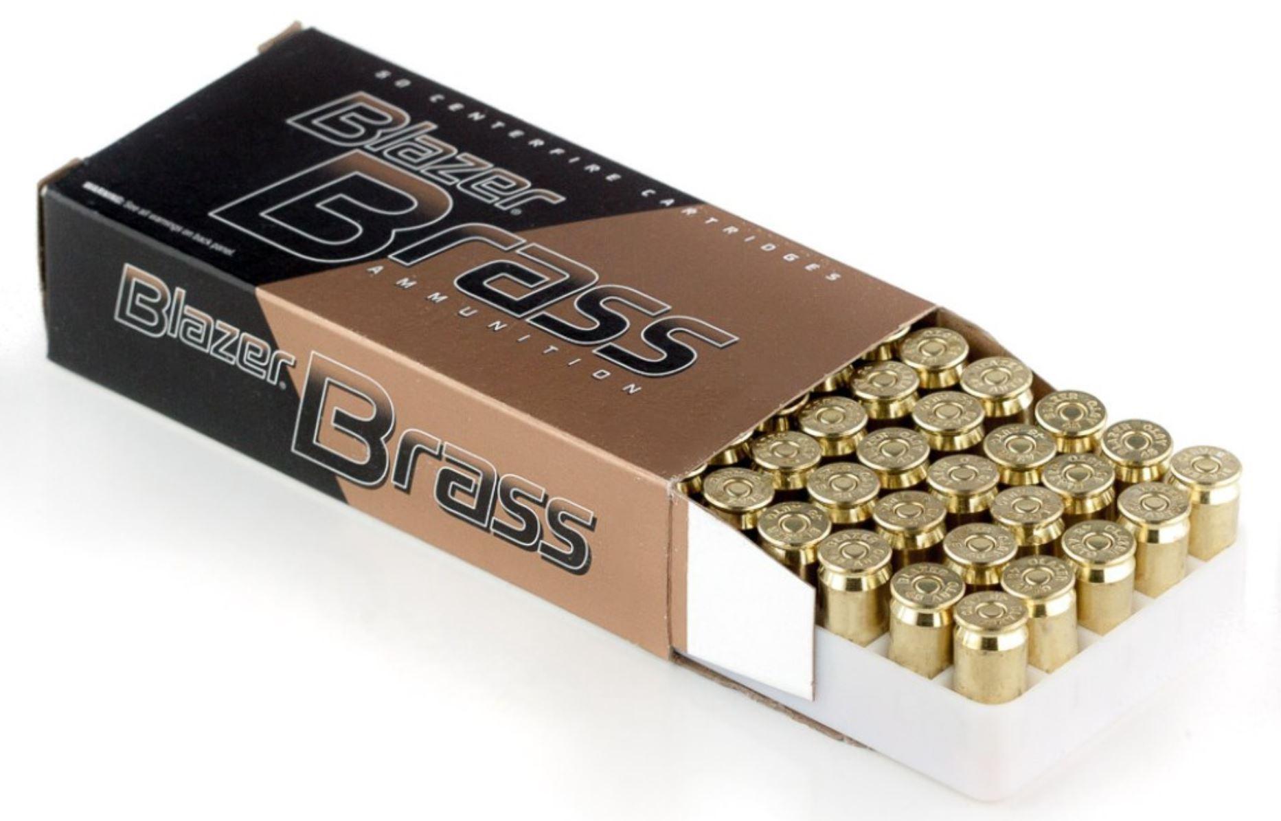 Blazer Brass FMJ ammo