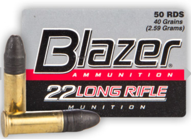 CCI Blazer rimfire Cartridges