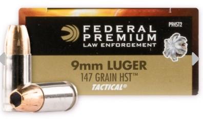 Federal law enforcement 9mm ammo