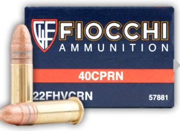 Fiocchi CPRN 22 LR Ammunition