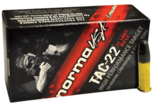 Norma Tac Rimfire Ammunition