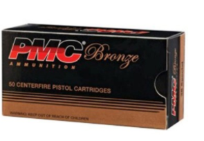 PMC Bronze Ammo centerfire pistol cartridge