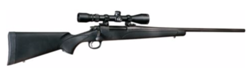 Remington 700 ADL Rifle and Scope Combo