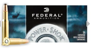 Federal Power-Shok Ammunition