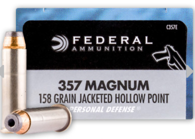 Federal jacketed hollow point Ammunition