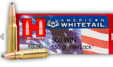 Hornady American Whitetail projectile