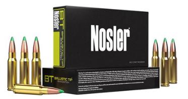 Nosler Ballistic Tip Projectile