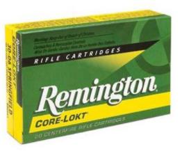 Remington Core-Lokt Cartridge