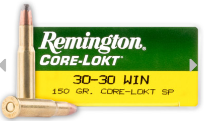 Remington Core-Lokt Cartridges