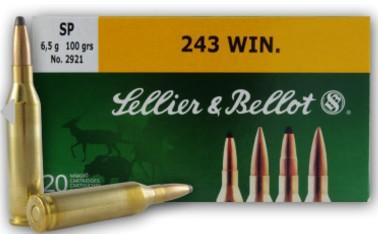 Sellier & Bellot .243 Winchester Cartridges