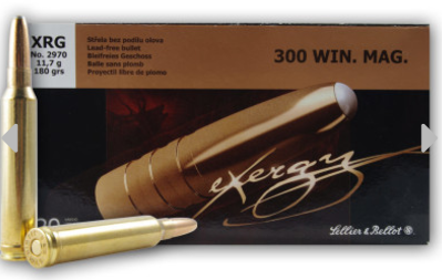 Sellier & Bellot Cartridge 300 Winchester Magnum