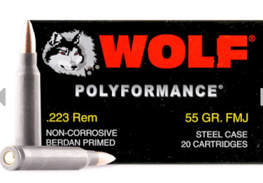 Wolf WPA Polyperformance Ammunition