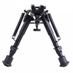 CVLIFE Bipod Adjustable Spring Return with Adapter