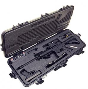 Case Club Rifle Case with Silica Gel & Accessory Box