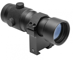 NcStar 3X Magnifier Scope with RB 24 Ring Mount