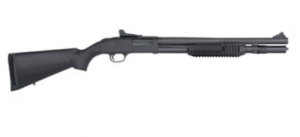 MOSSBERG 12 GA Parkerized Black Ghost Ring