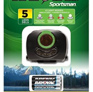 Rayovac Sportsman 5-LED Tracking Headlight