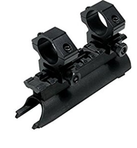 sks see-thru scope mount