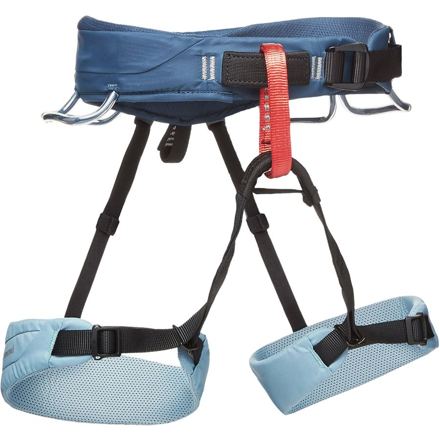 womens black diamond solution climbing harness