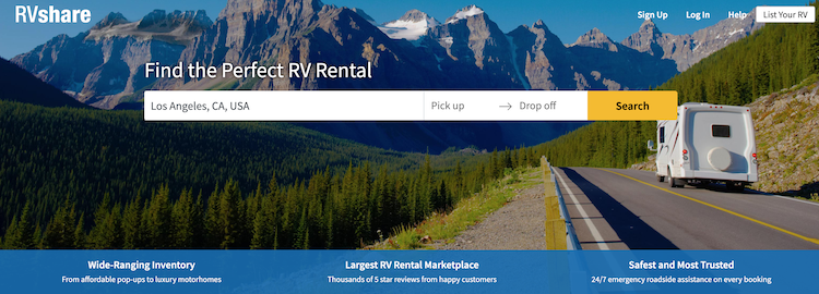 how to rent from RVshare