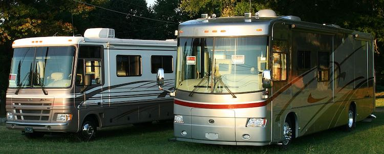 tips for Class A motorhomes
