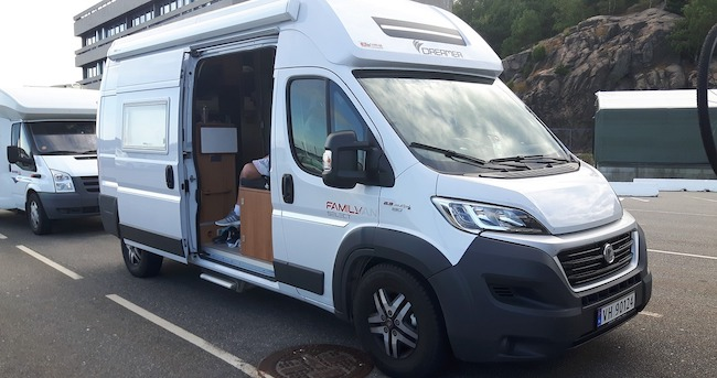 class b motor home for camping