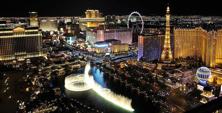 Las Vegas is a popular RV destination