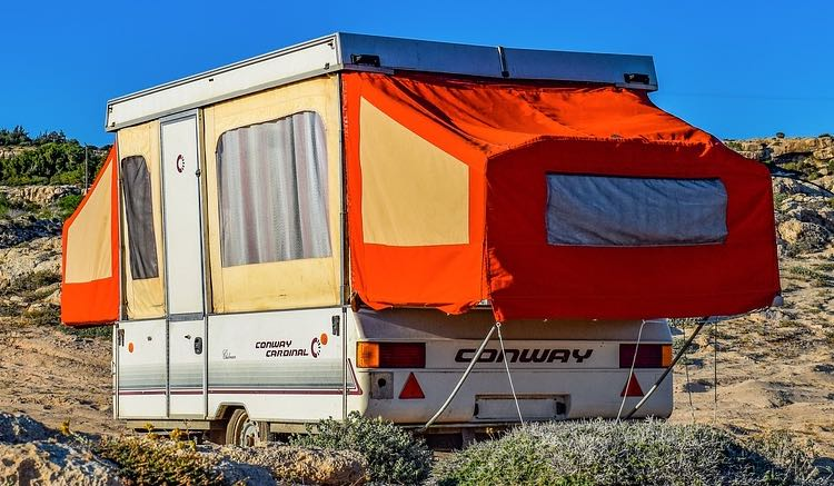 example of a travel trailer