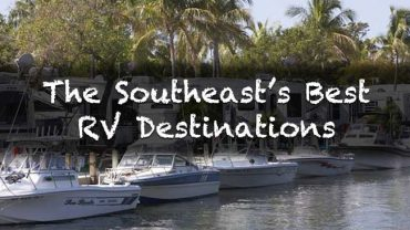 top RV campgrounds in the Southeast United States